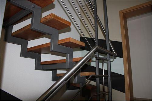 Treppenverlauf erstes Obergeschoss