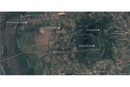 Google-map mit St-Georg Berg